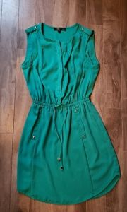 Dynamite jade green dress xs great condition